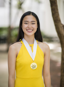 Distinguished Young Woman of America Dora Guo, June 30, 2019. (Seth Laubinger/Ruby Media)