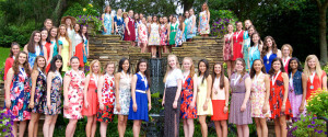 Distinguished Young Women Bellingrath Gardens Visit.  June 13, 2016.