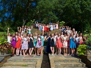 Distinguished Young Women Bellingrath Gardens and Home. June 15, 2015.