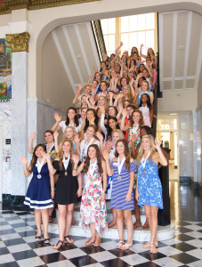 Distinguished Young Women History Museum 2017
